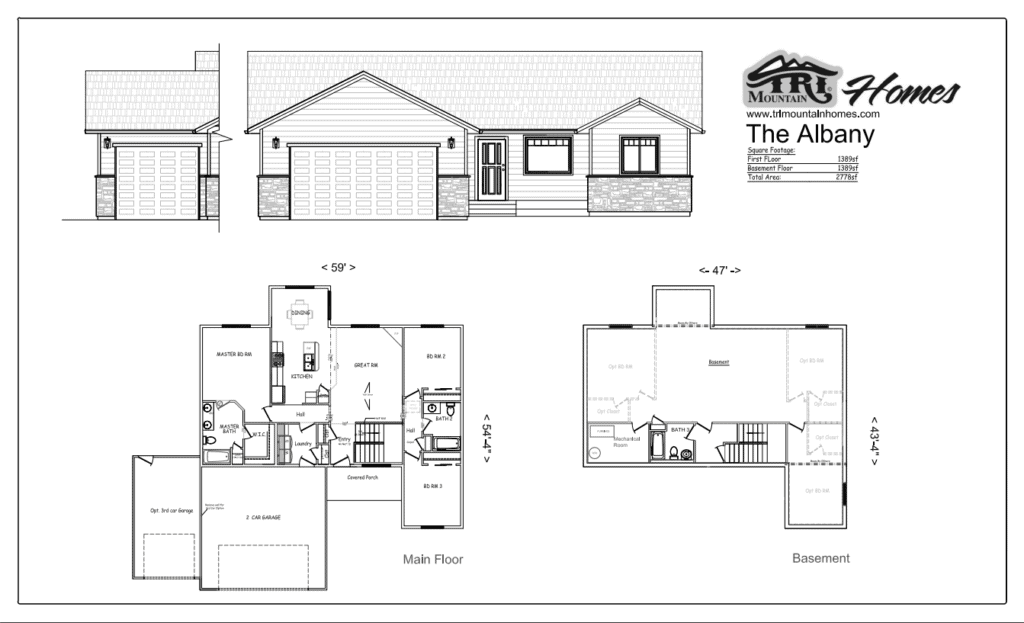 albany home plan