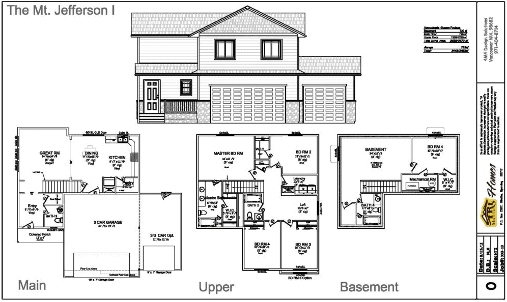 jefferson home plan