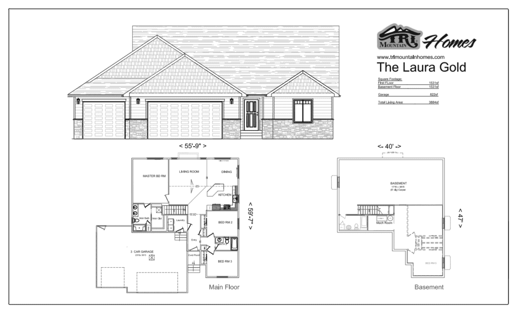laura gold home plan
