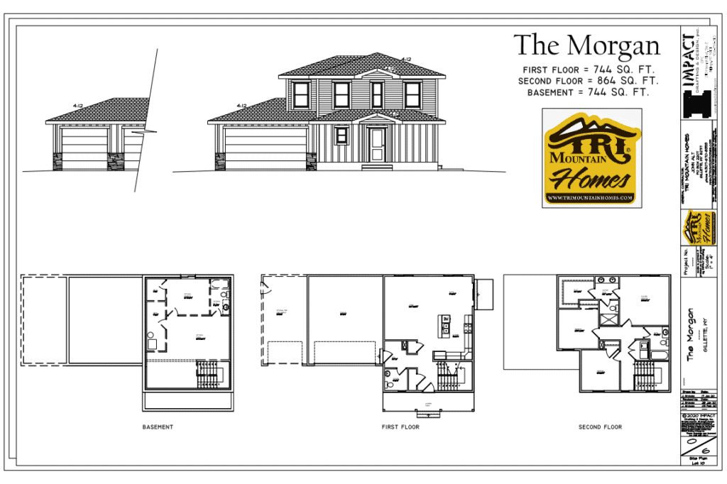 morgan home plan