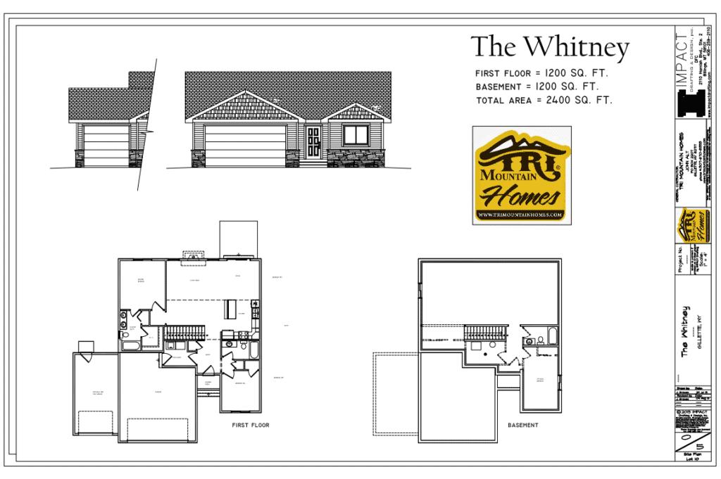 whitney home plan
